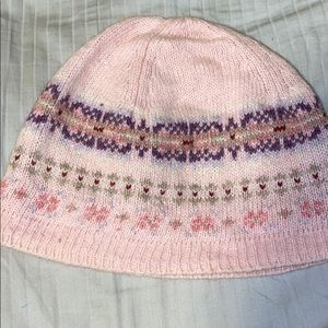 AE Kids Pink Knit Hat